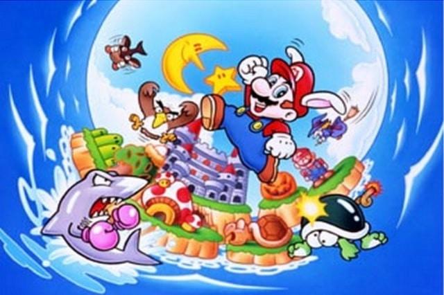 Artwork de Super Mario Land 2 sur Gameboy