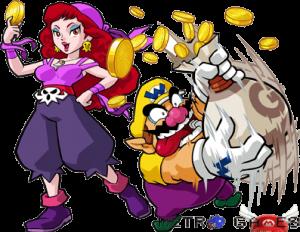 Wario et le capitaine Syrup dans Wario Land sur Gameboy