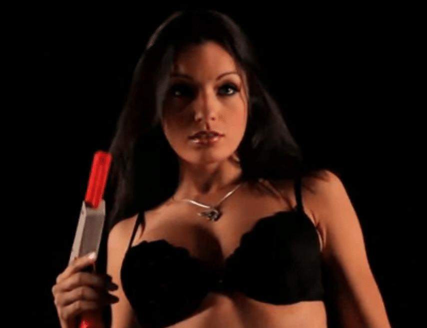 Jo Garcia de playboy en vidéo sexy sur les jeux vidéo
