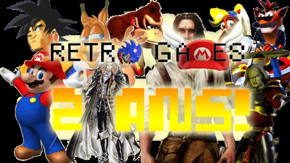 Blog Retro-Games.fr a 2 ans