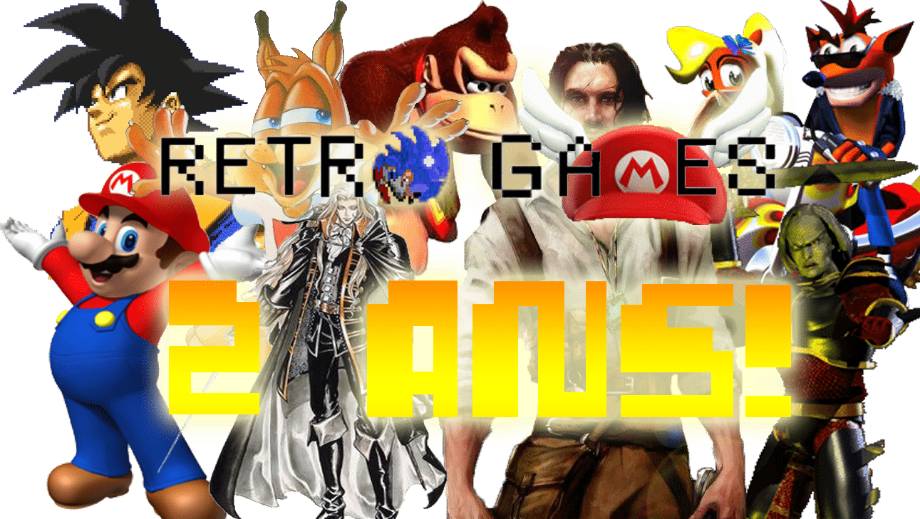 Blog Retro-Games.fr a 2 ans