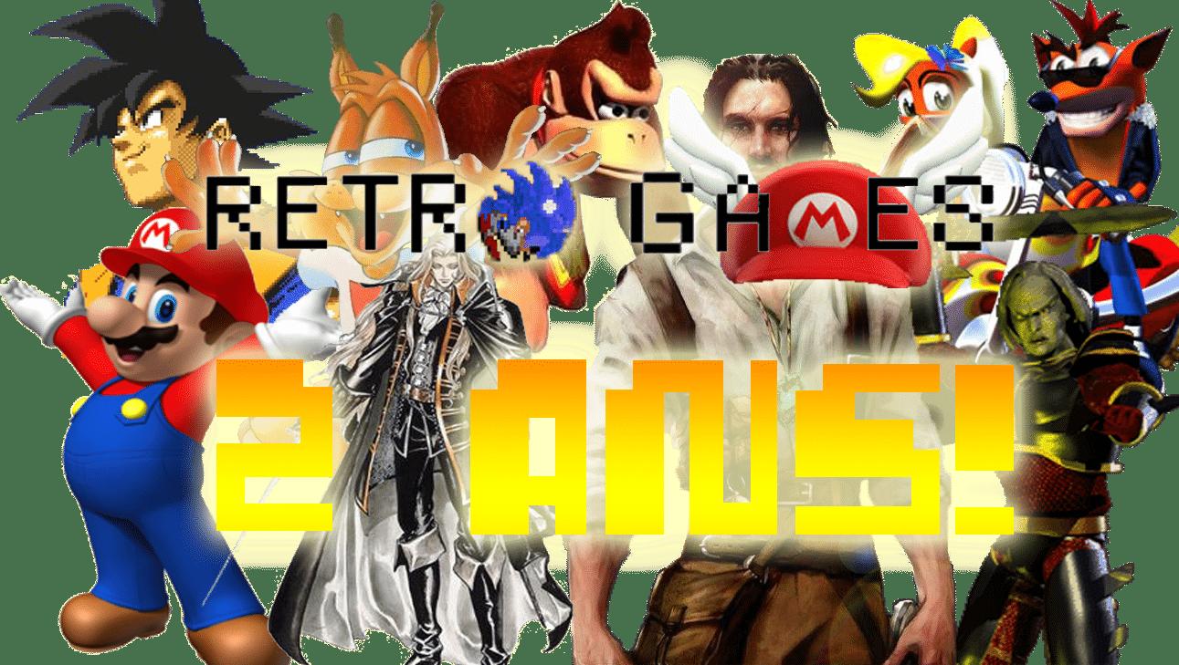 Retro-Games.fr fête ses deux ans !