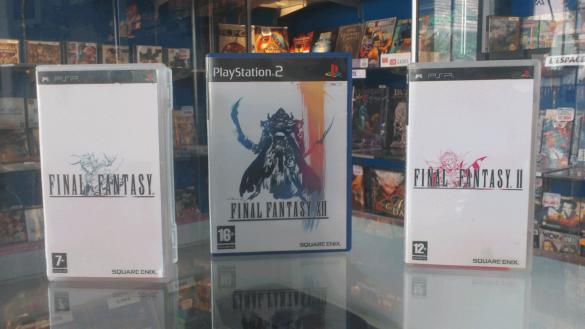 Jeux final fantasy 1, 2 et 12 sur PSP et PS2