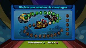 Mode campagne sur Worms Armageddon sur Xbox 360