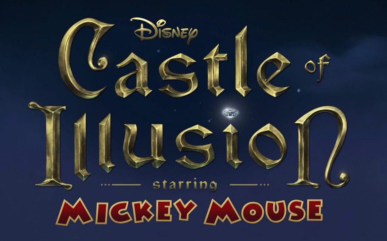 Ecran d'accueil du jeu Castle Of Illusion HD