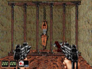 Lara croft dans shadow warrior classic