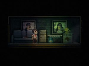 Lone survivor, jeu en pixel art