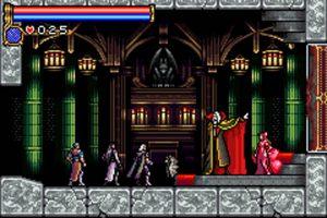 Les héros du jeu Castlevania sur GBA