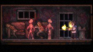 Flashback du héros dans le jeu Lone Survivor