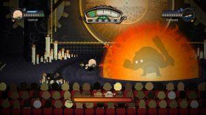 Boss feu dans le jeu Foul Play sur Xbox 360
