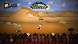 Décor désert dans foul play sur xbox