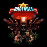 Artwork des héros et du logo de Broforce