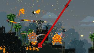 Arme spéciale raid aérien Broforce