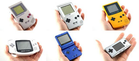 Versions Game Boy Nintendo