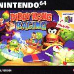 Boite diddy kong racing Nintendo 64