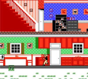Home Alone sur Nes, un bon exemple d'adaptation ratée..