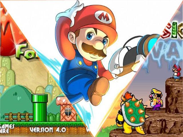 Exemples jeux Mario originaux gratuits internet