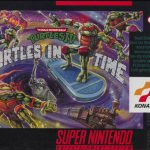boite du jeu Turtles in time super nintendo