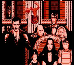 famille addams fester's quest NES