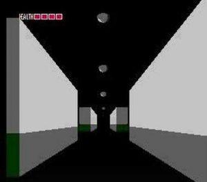 couloirs 3D fester's quest NES