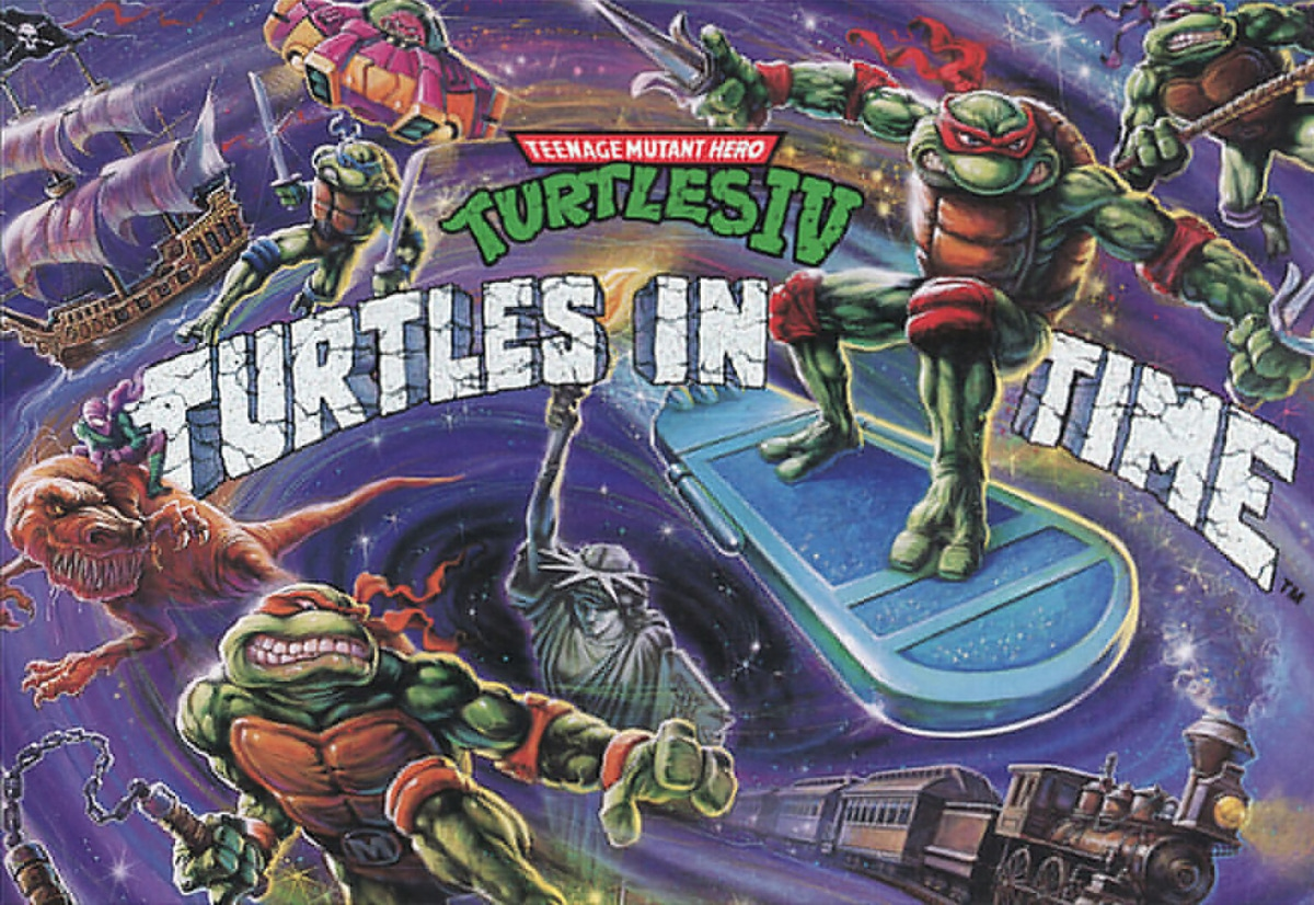 image jaquette turtles in time snes