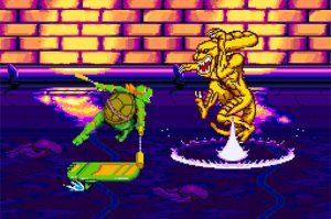 niveau des égouts turtles in time