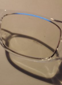 jaunissement des verres anti lumière bleue