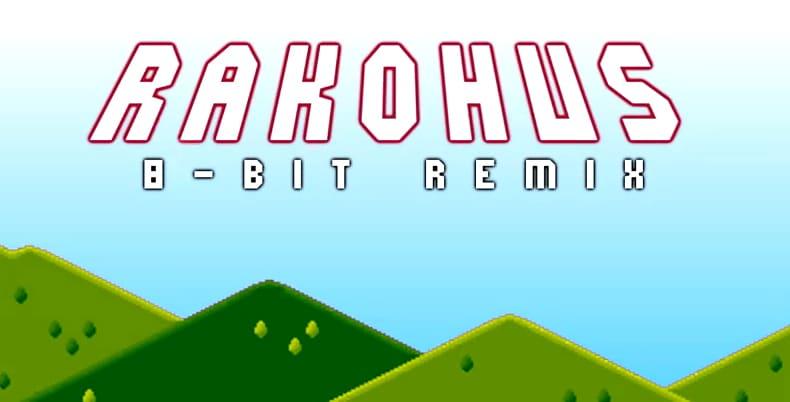 Logo de rakohus dj 8 bits