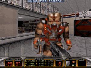 Ennemi premier niveau Duke Nukem 3D nintendo 64