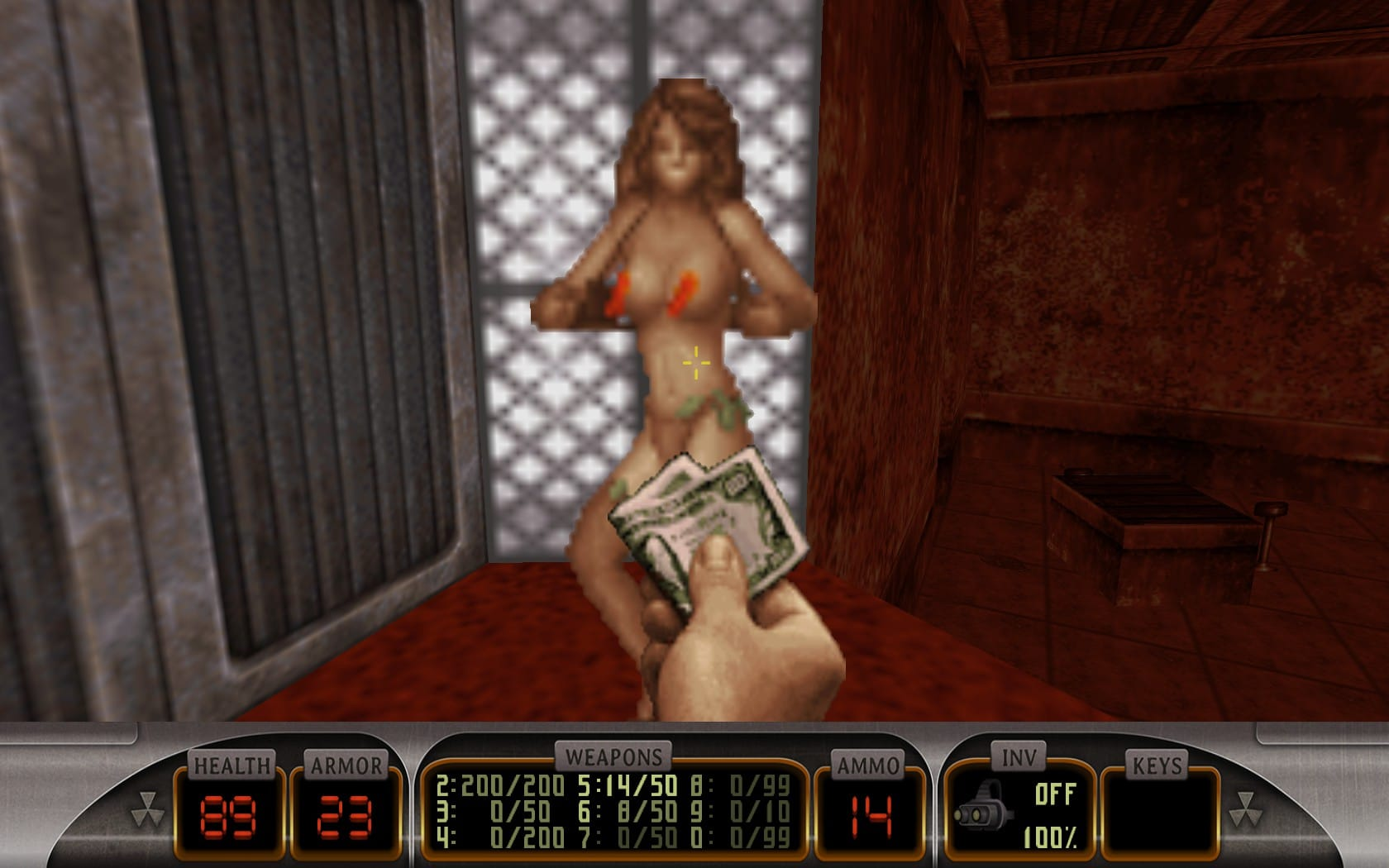 Windows 95 et avant, ou comment ressusciter un vieux PC - Page 3 Stripteaseuse-duke-nukem-3D