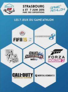 liste des jeux gameathlon dgs 201