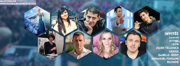 Liste des invités digital & game show 2015