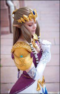 cosplay de la princesse zelda par Lucioles