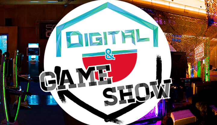 logo du salon digital and game show