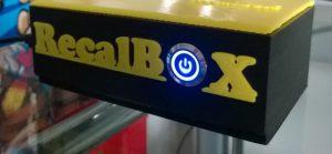 Boîtier 3D de la recalbox avec bouton