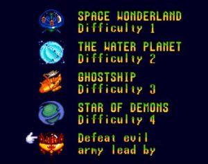Bonus level super widget Super NES