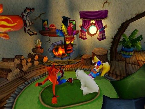 scène d'ouverture de Crash Bandicoot 3