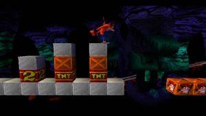 Niveau bonus Nitrus Brio dans Crash bandicoot 1