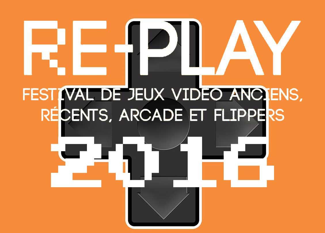 logo festival retrogaming re-play 2016