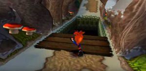 acces zone secrète niveau unbearable crash bandicoot 2 ps1