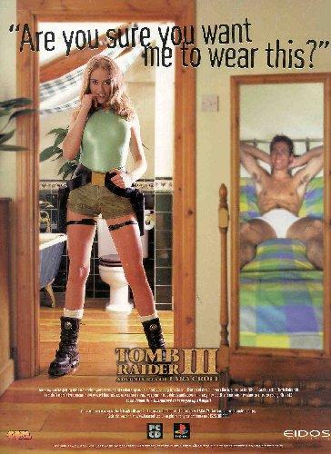 publicité sexy pour tomb raider 3