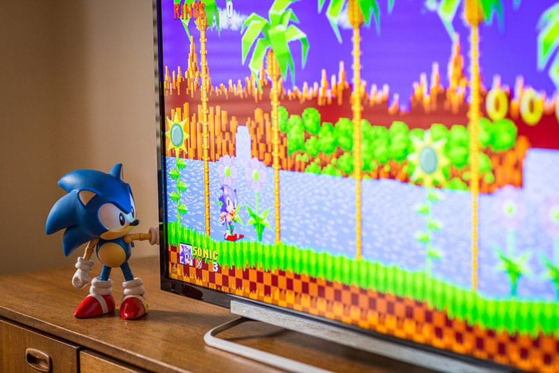 sonic megadrive sur apple tv