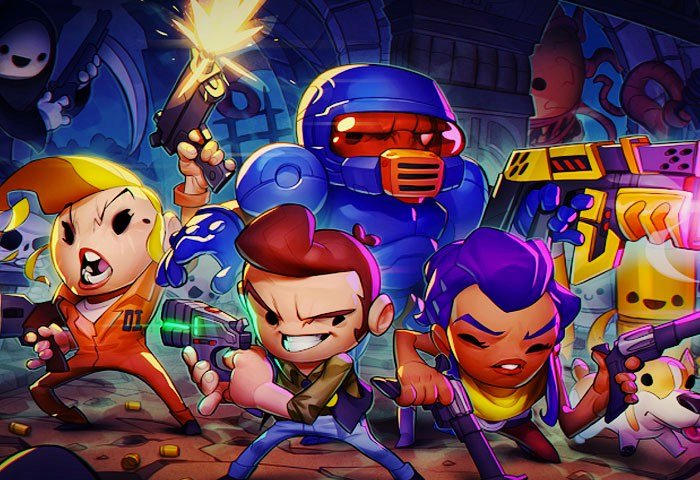 personnages du jeu enter the gungeon