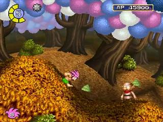zone foret des nains TOMBI PS1
