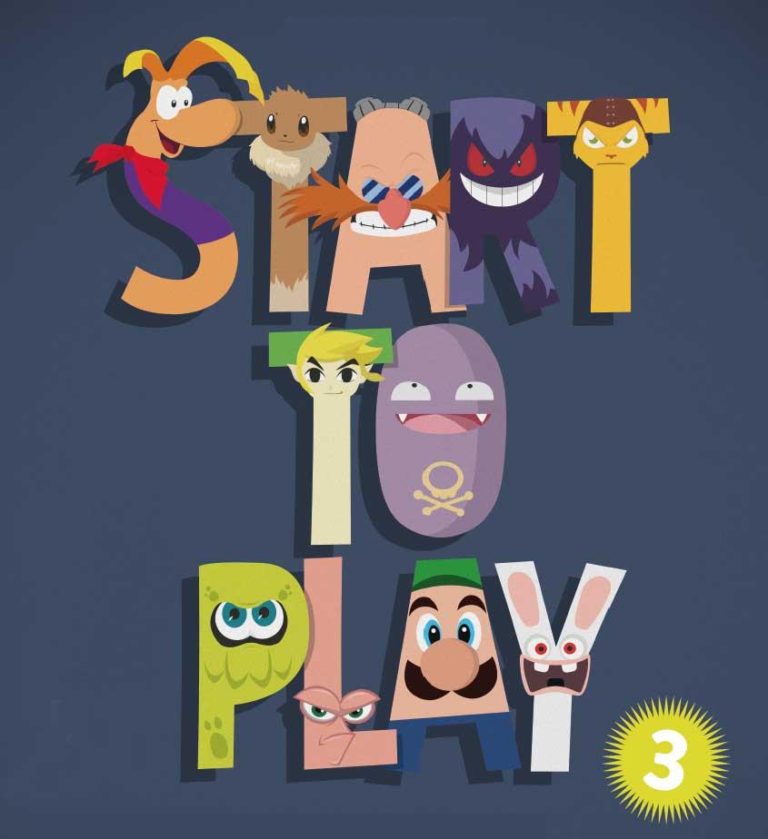 logo 2016 du salon gaming start to play 3 à strasbourg