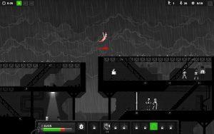 zombie sautant entre deux toits dans zombie night terror