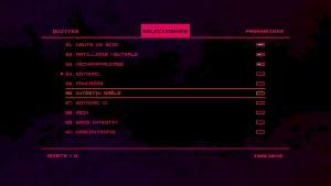 Choix des niveaux dans le menu de rungunjumpgun