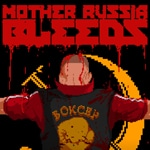logo du jeu de combat mother russia bleeds sur PC