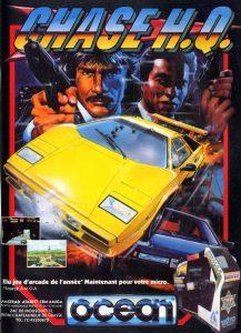 Jaquette du jeu vidéo chase HQ par ocean sur borne d'arcade en 1988