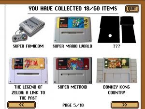 bibliothèques jeux consoles achetées jeu smartphone vintage game shop